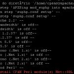 Erro na hora de compilar o Apache ( !! Failed to install CPAN Perl module(s) Net::SSL !! )